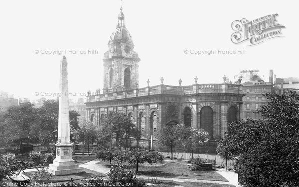 Birmingham, St Philip's Church c.1890