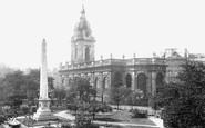 Birmingham, St Philip's Church c.1890