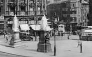 Birmingham, Statues In Victoria Square 1932