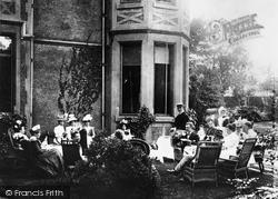 Tea At The Grange, Erdington 1899, Birmingham