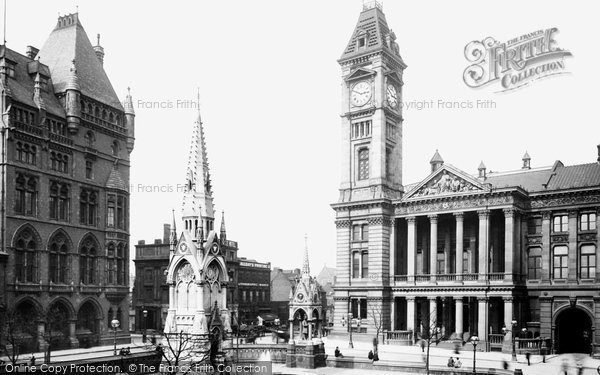 Birmingham, The Art Gallery And Museum 1896
