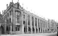 Birmingham, The Grammar School c.1890