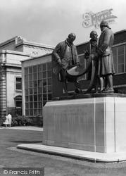 The Industrial Pioneers Memorial, Broad Street c.1960, Birmingham