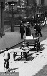 Traffic, New Street 1890, Birmingham