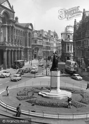 Victoria Square And The Council House c.1960, Birmingham