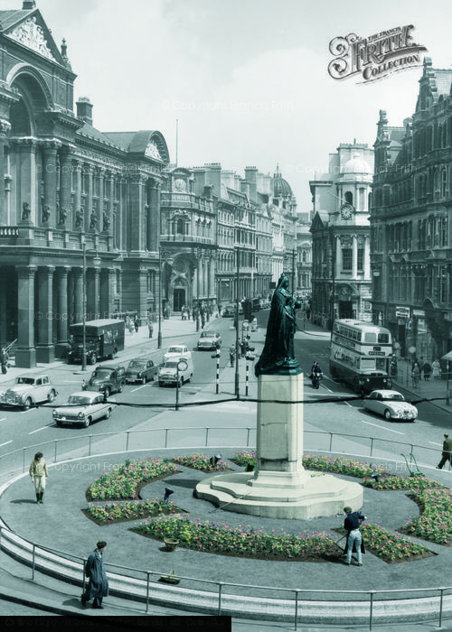 Birmingham, Victoria Square And The Council House c.1960