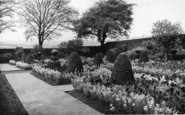 Birstall, Oakwell Hall, The Gardens c.1950