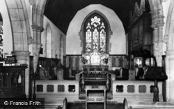 Birstwith, The Church Interior c.1960