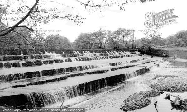 Birstwith, The Waterfall c.1960