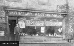 Birtley, Birtley Auto Mart c.1920