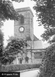Birtley, St John's Church c.1955
