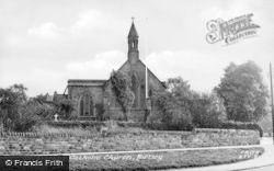 Birtley, St Joseph's Catholic Church c.1955