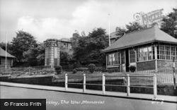 Birtley, War Memorial c.1955