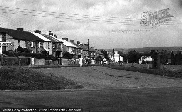 Biscovey, Edgecumbe Terrace c.1955