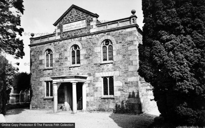 Biscovey, Leek Seed Methodist Church c.1955