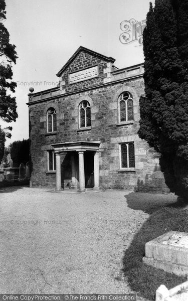 Biscovey, Methodist Church c.1955