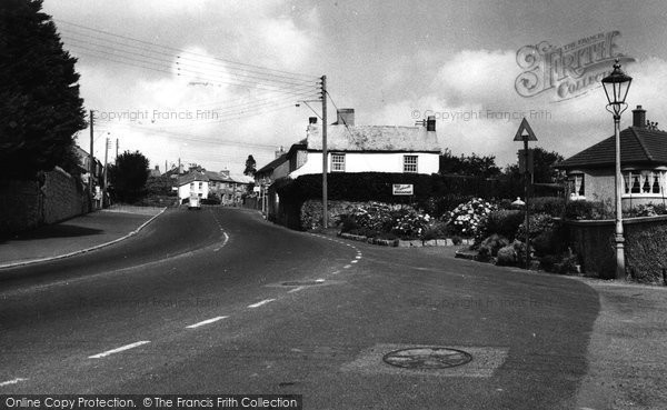 Biscovey, St Austell Road c.1955