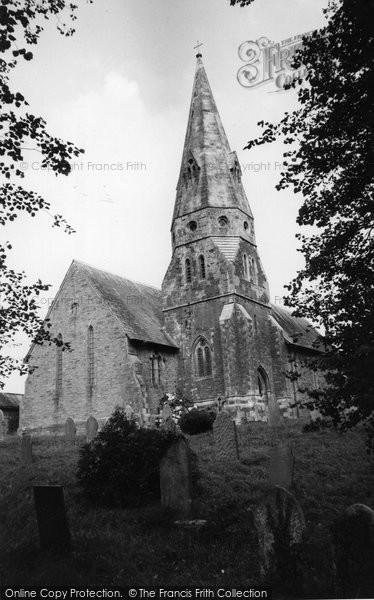 Biscovey, St Mary's Parish Church c.1955