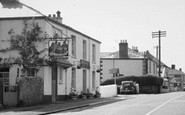 Biscovey, The Four Lords, St Austell Road c.1955