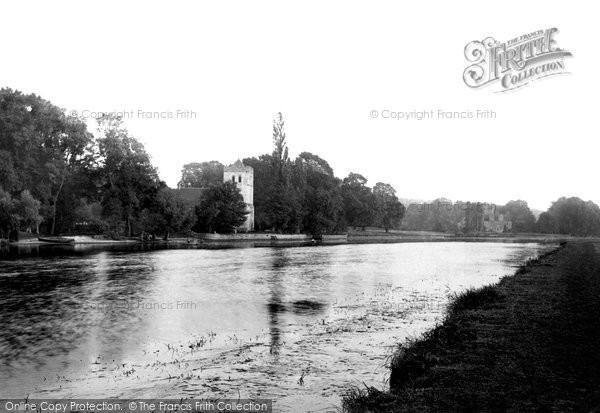 Bisham, Abbey and Church 1890