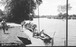 Bisham, Abbey, The Landing Stage 1965