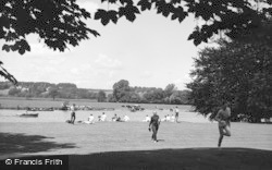Bisham, Abbey, The Lawns 1965