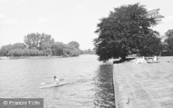 Bisham, Abbey, The River 1965