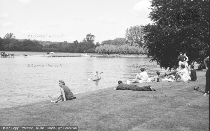 Photo of Bisham, Abbey, The River 1965