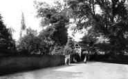 Bisham, All Saints' Church and Lychgate 1890