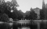 Bisham, All Saints Church From The Thames 1901