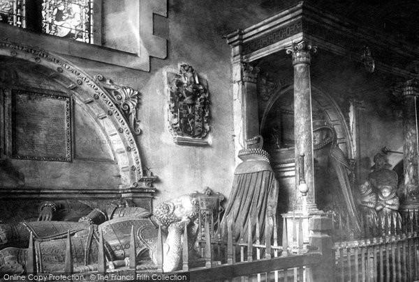 Bisham, All Saints Church, The Hoby Chapel 1890