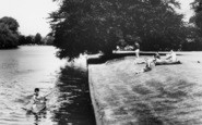 Bisham, Canoeing Down The River1965