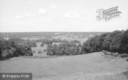 Bisham, Thames Valley From Bisham Hill 1965