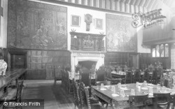 Bisham, The Dining Hall, Bisham Abbey 1953