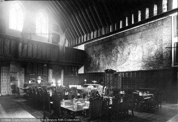 Bisham, the Dining Hall, Bisham Abbey, National Recreational Centre c1955