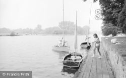 Bisham, The River Thames 1967