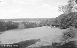 Bisham, View From Bisham Hill 1956