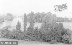 Bisham, View From Tower, Bisham Abbey 1953
