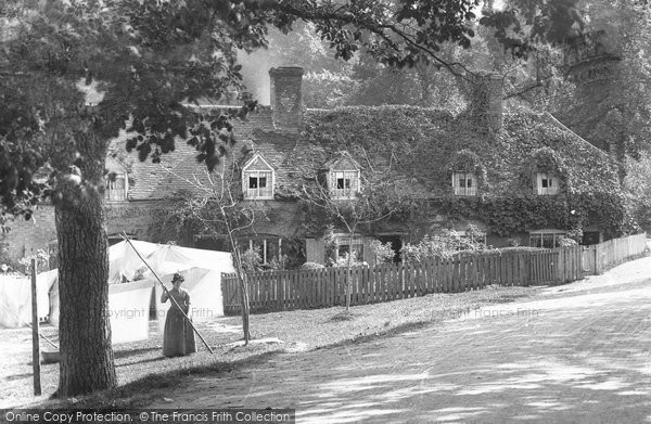 Bisham, Wayside Cottages 1890