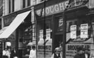 Bishop Auckland, Broughs, Newgate Street 1923
