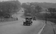 Bishop Auckland, Cars In Durham Road 1929