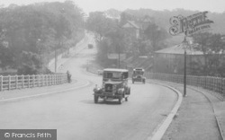 Bishop Auckland, Cars In Durham Road 1929