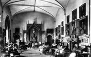 Bishop Auckland, Castle, Drawing Room 1898