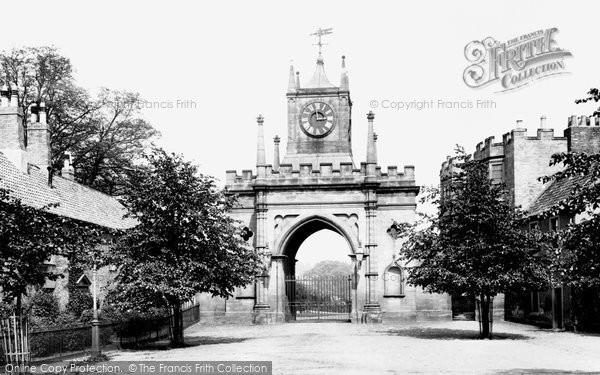 Photo of Bishop Auckland, Castle Gateway 1898