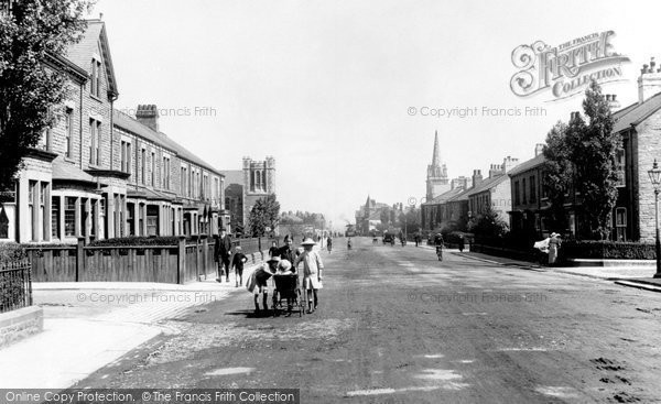 Photo of Bishop Auckland, Cockton Hill Road 1914, ref. 67138