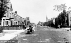 Bishop Auckland, Cockton Hill Road 1914