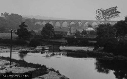Bishop Auckland, Dam Head And Newton Cap Viaduct 1923