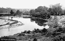 Bishop Auckland, Dam Head And River Wear 1923