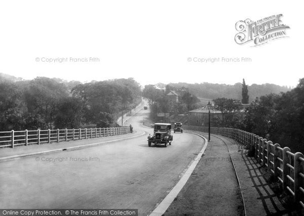 Photo of Bishop Auckland, Durham Road 1929, ref. 82521