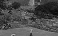 Bishop Auckland, Golf Links And Railway Bridge 1914
